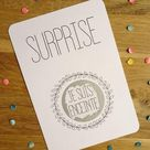 Customizable scratch card /Pregnancy announcement / Wedding announcement /marriage proposal / reques