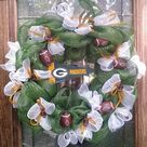 Packers Wreath