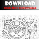 happy birthday coloring pages for adults