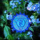 Throat Chakra Embroidered sew/iron on Patch – Cosmic Corner