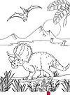 Ausmalbilder Dinosaurier » PDF zum Ausdrucken