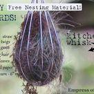 How to Offer Nesting Materials For Birds   Empress of Dirt