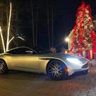 """Aston Martin of New England on Instagram """"Now this is a gift everyone wants under the Christmas tree This lightning silver DB11 Launch Edition was our 1st client delivery in 2017.…"""""""