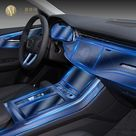 For Audi Q7 Q8 2019 2020 Car Interior Center console Transparent TPU Protective film Anti-scratch Repair film Accessories Refit - style 3