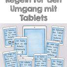 Tablet Regeln