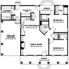 Plan 2563DH: Cute And Living Large