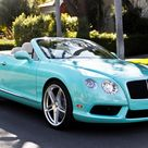 2013 Bentley Continental GTC V8 Beverly Hills edition is dressed in Tiffany Blue - Luxurylaunches