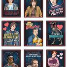 Stranger Things Valentine's Day Card Pack
