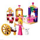 Generico Juego de 8 figuras de princesas de cuento de hadas para niñas
