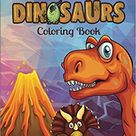 Geometric Dinosaurs Coloring Book: Fun Dinosaur Coloring Pages for Kids 6-12 and Adults -