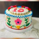 Mexican style them cake made by me(Kat)
