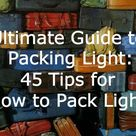 Packing Light