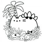 Pusheen Coloring Pages – Coloring sheets with Pusheen