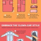 Infographic reveals the ultimate packing hacks