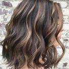 50 Dark Brown Hair with Highlights Ideas for 2021 - Hair Adviser