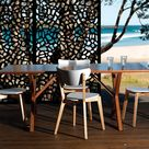 Australian manufacturer of recycled plastic decorative screens