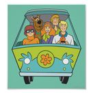 Scooby-Doo & The Gang Mystery Machine Poster   Zazzle.com