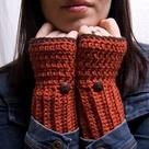 Orange Sweaters