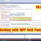 🎁 Course Update: (ตอนที่ 9) สอนการใช้งาน Grid Panel จัด Layout ใน WPF Application .NET 5