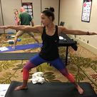 Check out our awesome PT Aide practicing her multi functional stances What a super star physicaltherapy wellness fitness health PTaide training health fitness shoreline edmonds multifunctional movement exercise