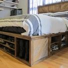 Bed Frame With Storage