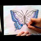 Vlinder kleuren