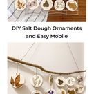 DIY Salt Dough Ornaments and Easy Mobile — Value Minded Mama