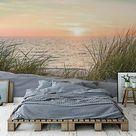Fototapete Vlies Strand Meer Ostsee - Schlafzimmer Wohnzimmer XXL Tapete 11851V8  | eBay