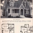 Home Builders Catalog - 1929 Duffy - American Residential Architecture - English Eclectic Cottage
