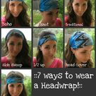 Hair Scarf Wraps