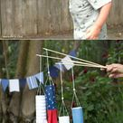 DIY Projects for Kids: Make These Patriotic Crepe Paper Windsocks!