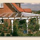 Terrassenüberdachung Glas VSG und Holz