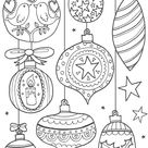 Christmas Coloring Pages for Kids & Adults