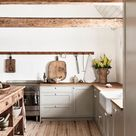 Farmhouse kitchen in Österlen
