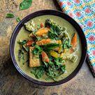 Vegetarian Thai Green Curry Recipe   VegeCravings