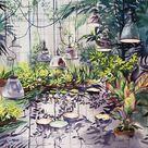 Original Nature Painting by Olga Bezlepkina | Fine Art Art on Paper | Lights