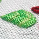 Raised Fishbone Stitch Video Tutorial
