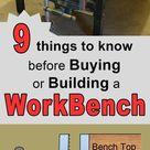 Workbench Plans – (Tips, Ideas on Portable, DIY, & Garage Workbenches)