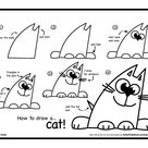 How To Draw A Cat - Art For Kids Hub -