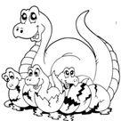 Werkbladen Dinosaurussen voor kleuters en groep 3