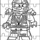 Lego Ninjago Printable Puzzle Games 9