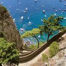 The wonderful Via Krupp in Capri