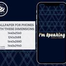 I'm Speaking  Kamala Harris Phone Wallpaper  modern    Etsy