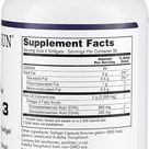 APOLLO SUN OMEGA 3 Molecularly Distilled Softgels 1000mg - 180 EPA / 120 DHA Per Softgel (100 Soft gels)