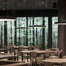 canteen of the University in Wien designed by Tzou Lubroth Architekten