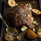 Harissa Roast shoulder of lamb recipe   Drizzle and Dip