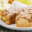Dinkel-Apfel-Streuselkuchen
