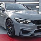 INSIDE the NEW BMW M4 CS 2018   Interior Exterior DETAILS w/ REVS
