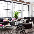 【海外実例集43選】家具選びで迷わない!床が濃い色のフローリングを使用した部屋のおしゃれなインテリア集