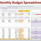Georges Monthly Budget Spreadsheet v4.0
